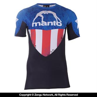 "Manto Short Sleeve ""Hero"" Rashguard"